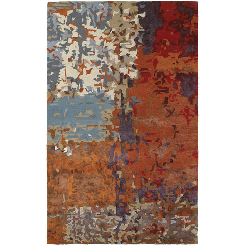 GALAXY 21904 Blue, Orange Rug - Oriental Weavers