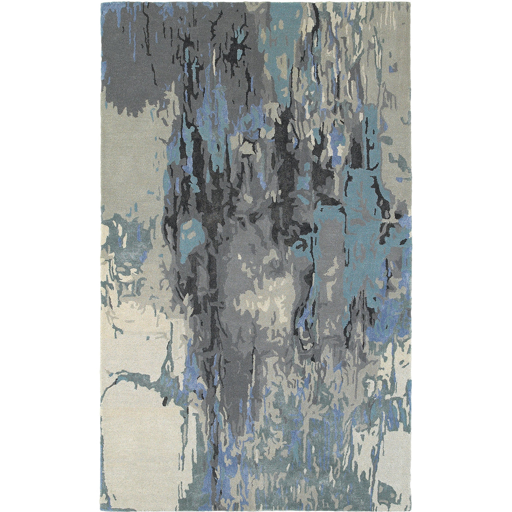 GALAXY 21906 Blue, Grey Rug - Oriental Weavers