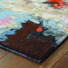 GALAXY 21908 Blue, Pink Rug - Oriental Weavers
