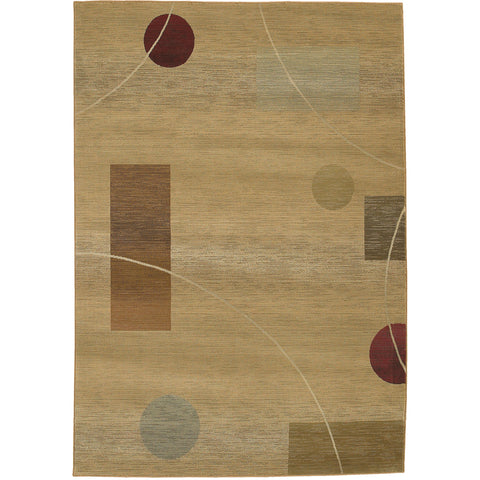 GENERATIONS 1504G Beige, Red Rug - Oriental Weavers