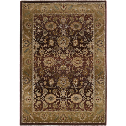GENERATIONS 1732M Purple, Gold Rug - Oriental Weavers