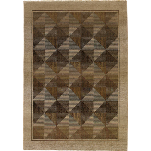 GENERATIONS 252J1 Beige, Green Rug - Oriental Weavers