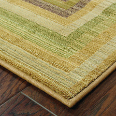GENERATIONS 281J2 Beige, Green Rug - Oriental Weavers