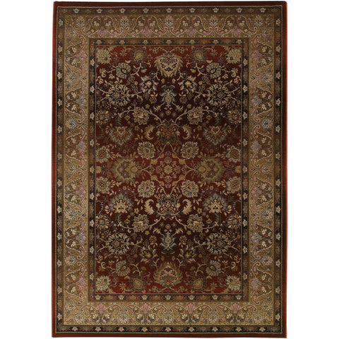 GENERATIONS 3434R Red, Beige Rug - Oriental Weavers