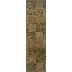 GENERATIONS 3435Y Green, Gold Rug - Oriental Weavers