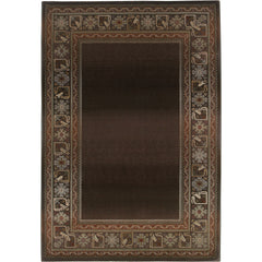 GENERATIONS 3436B Brown, Green Rug - Oriental Weavers