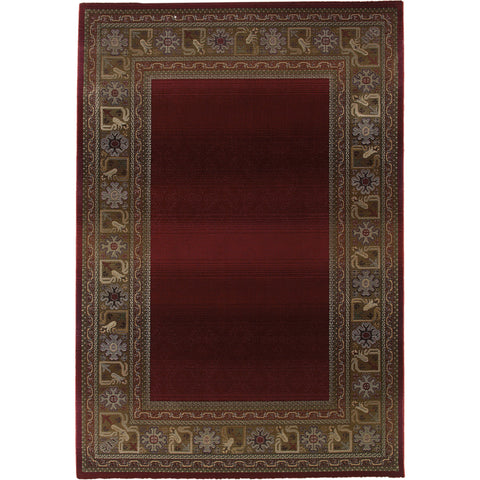 GENERATIONS 3436R Red, Green Rug - Oriental Weavers