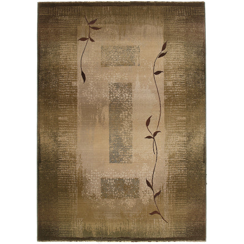 GENERATIONS 544G1 Green, Beige Rug - Oriental Weavers