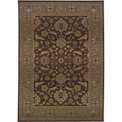 GENESIS 952Q1 Brown, Blue Rug - Oriental Weavers