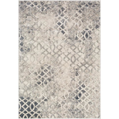 Cash Medium Gray, Black Rug - Surya (HAC-2307)