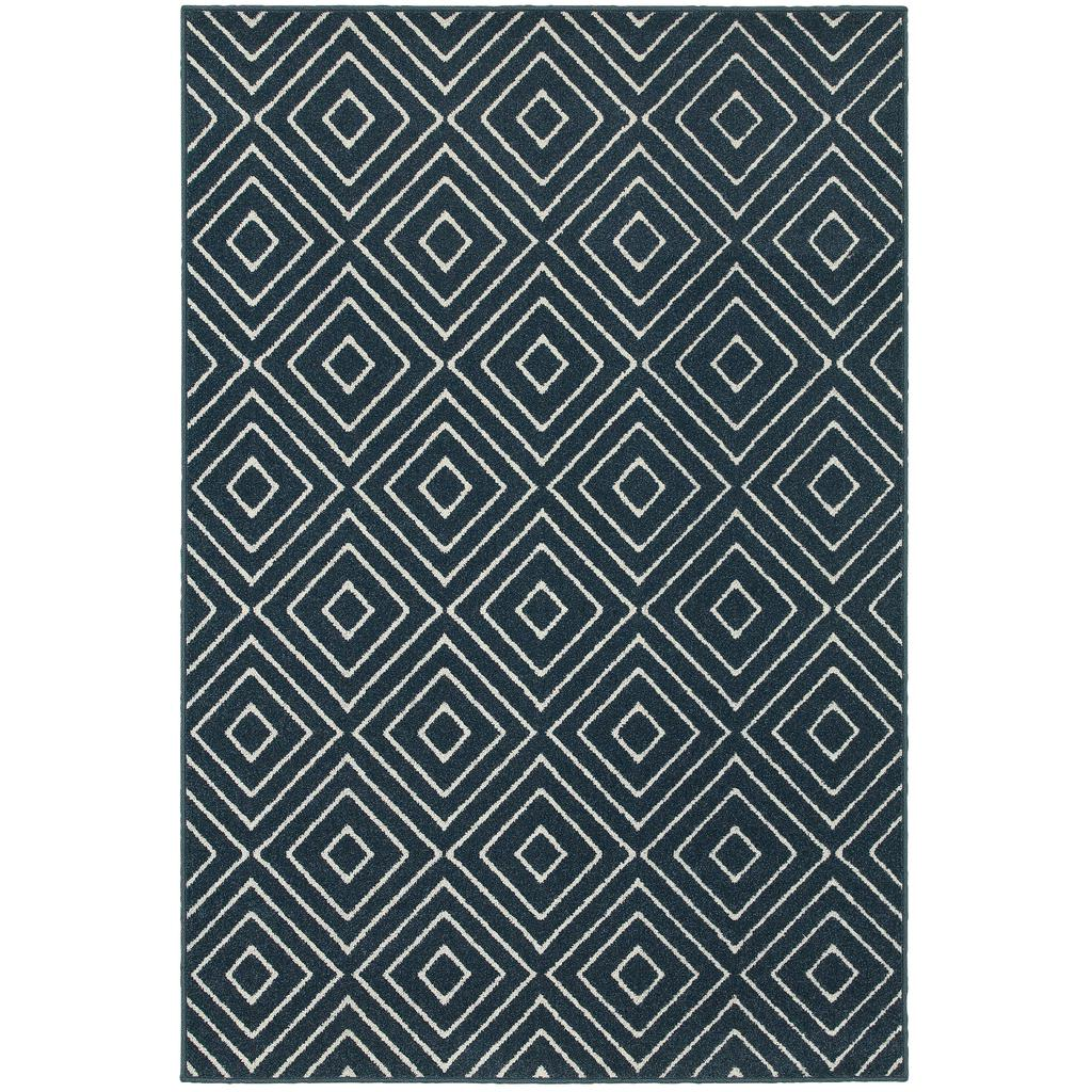 HAMPTON 2332b Navy Rug - Oriental weavers