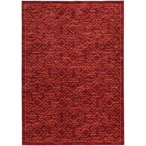 HARPER 40249 Red, Orange Rug - Oriental Weavers