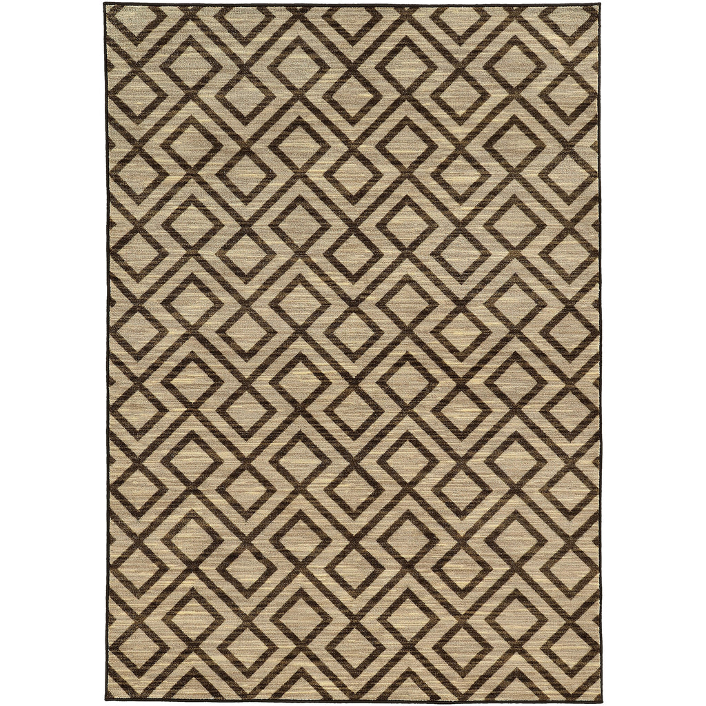 HARPER 68284 Beige, Brown Rug - Oriental Weavers