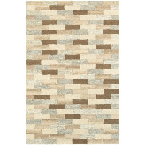 INFUSED 67006 Beige, Grey Rug - Oriental Weavers