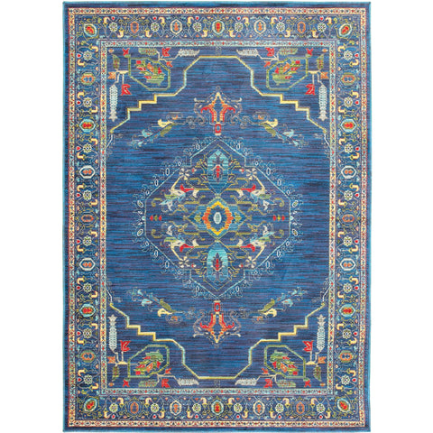 JOLI 564B4 Blue, Green Rug - Oriental Weavers