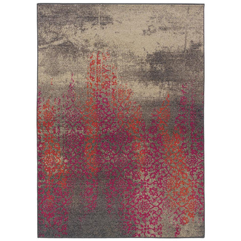 KALEIDOSCOPE 504j Grey Rug - Oriental weavers