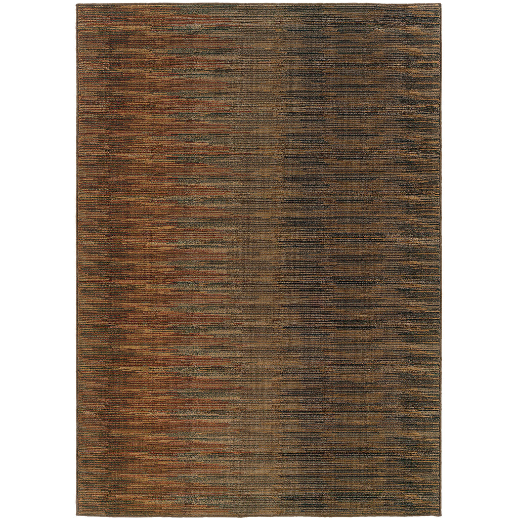 KASBAH 3951A Brown, Rust Rug - Oriental Weavers