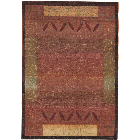 KHARMA 439R4 Red, Gold Rug - Oriental Weavers