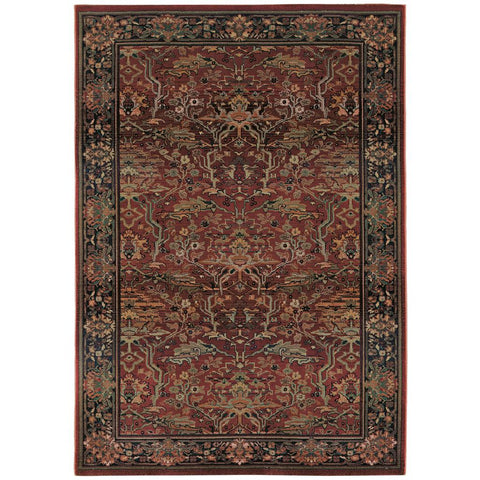 KHARMA 465r Red Rug - Oriental weavers