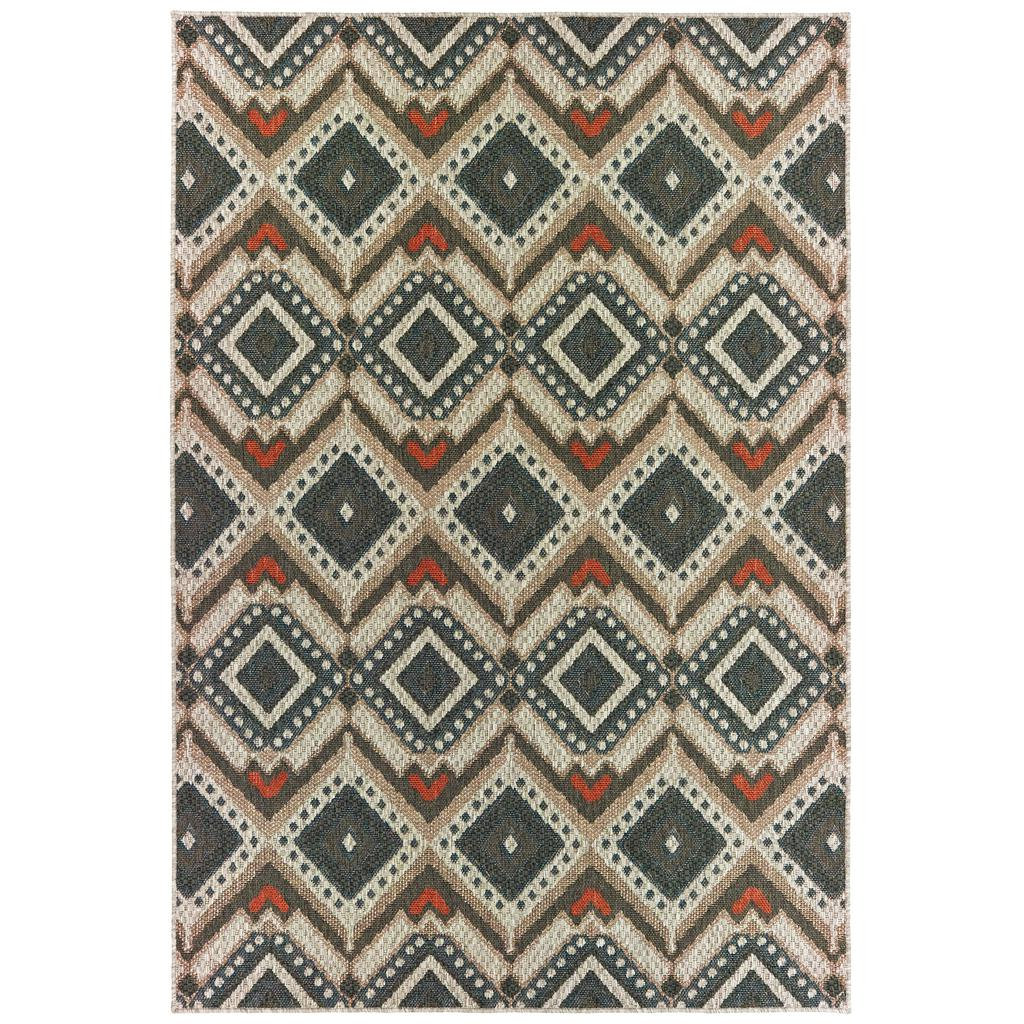 LATITUDE 2x Grey Rug - Oriental weavers