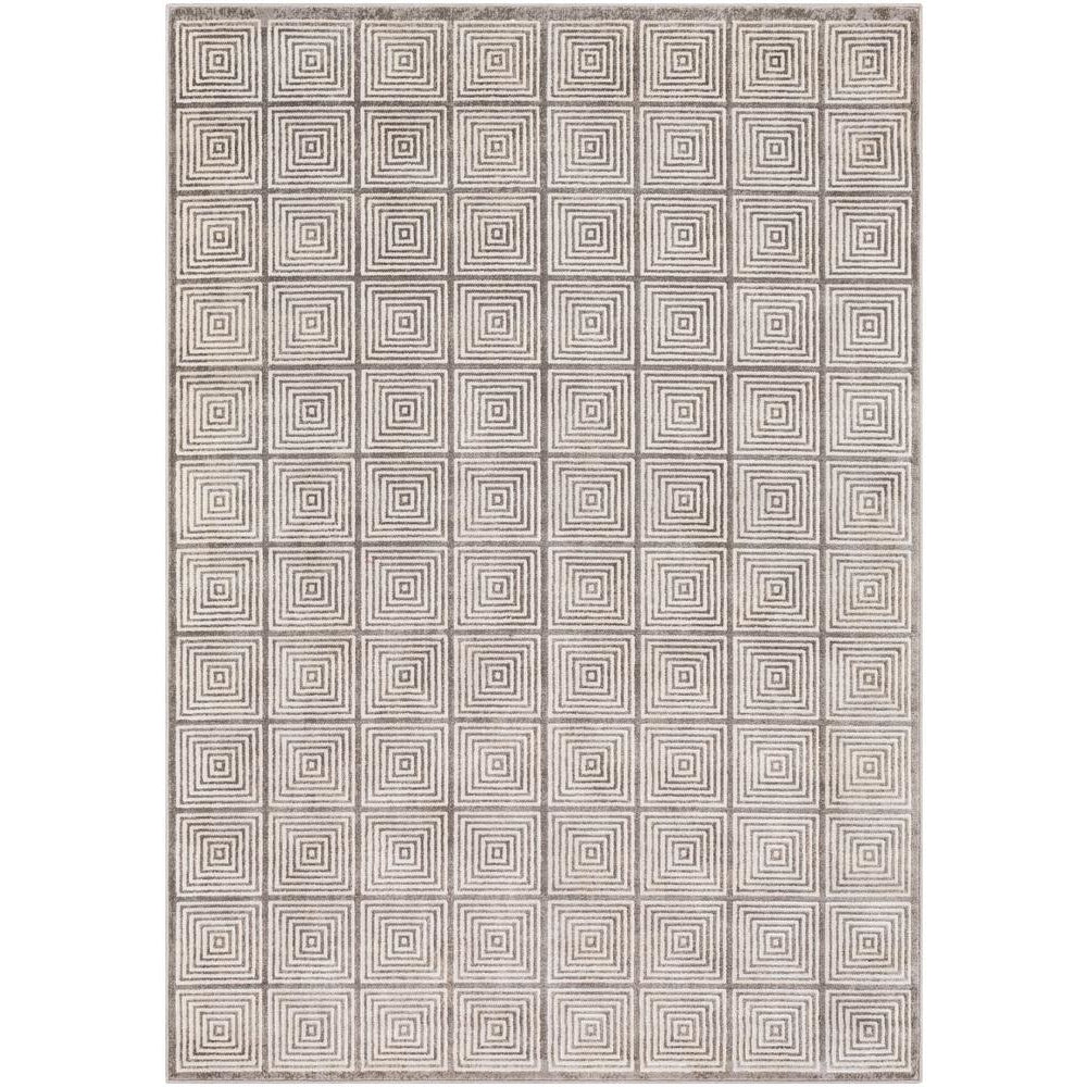 Lagom Charcoal, Medium Gray Rug - Surya (LGM-2308)