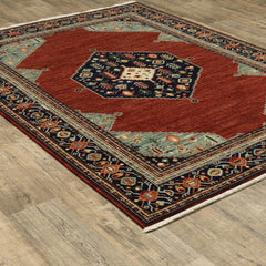 LILIHAN 5503m Red Rug - Oriental weavers