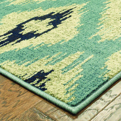 LINDEN 7825C Blue, Grey Rug - Oriental Weavers