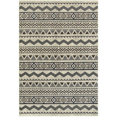 LINDEN 7824A Grey, Blue Rug - Oriental Weavers