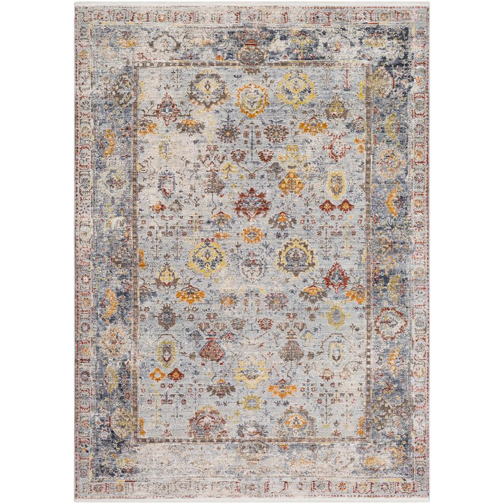 Liverpool Charcoal, Medium Gray Rug - Surya (LVP-2300)