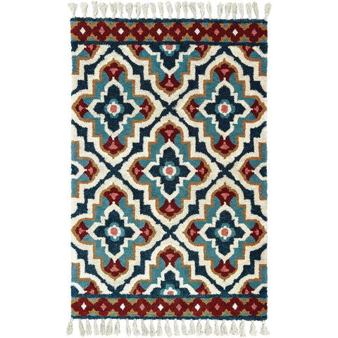 MADISON 61401 Blue, Ivory Rug - Oriental Weavers