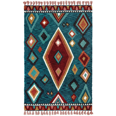 MADISON 61402 Blue, Pink Rug - Oriental Weavers