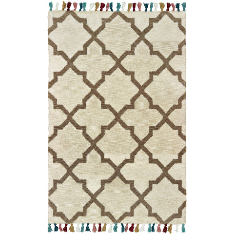 MADISON 61405 Ivory, Tan Rug - Oriental Weavers