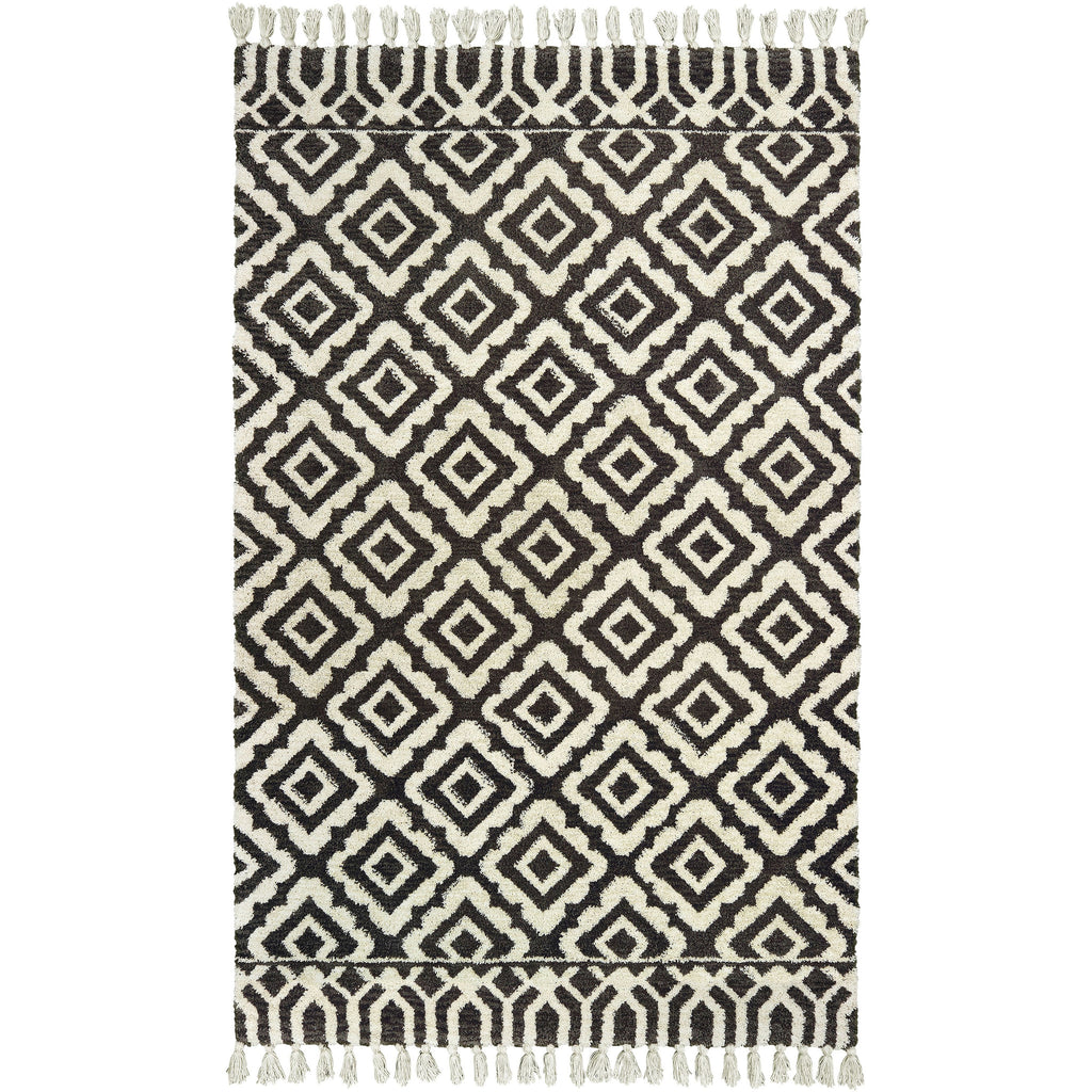 MADISON 61406 Ivory, Brown Rug - Oriental Weavers