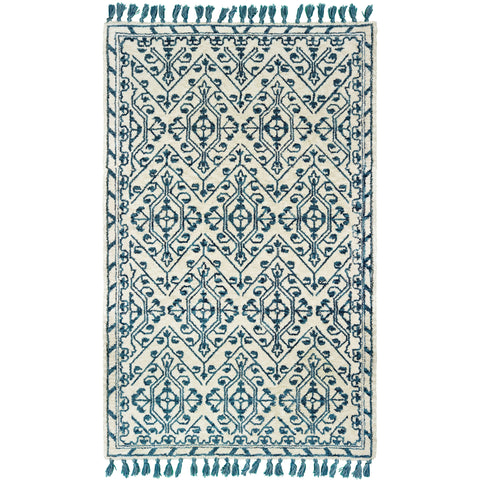 MADISON 61408 Ivory, Blue Rug - Oriental Weavers