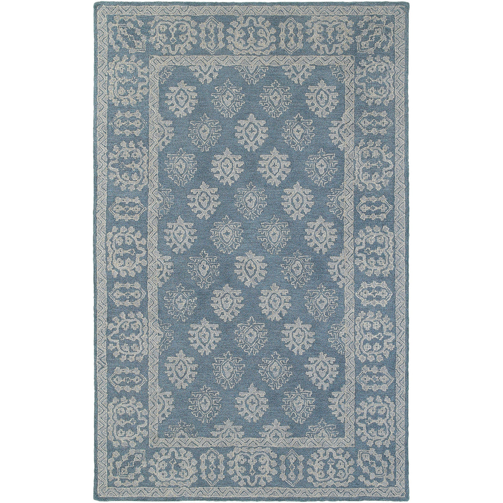 MANOR 81201 Blue, Grey Rug - Oriental Weavers