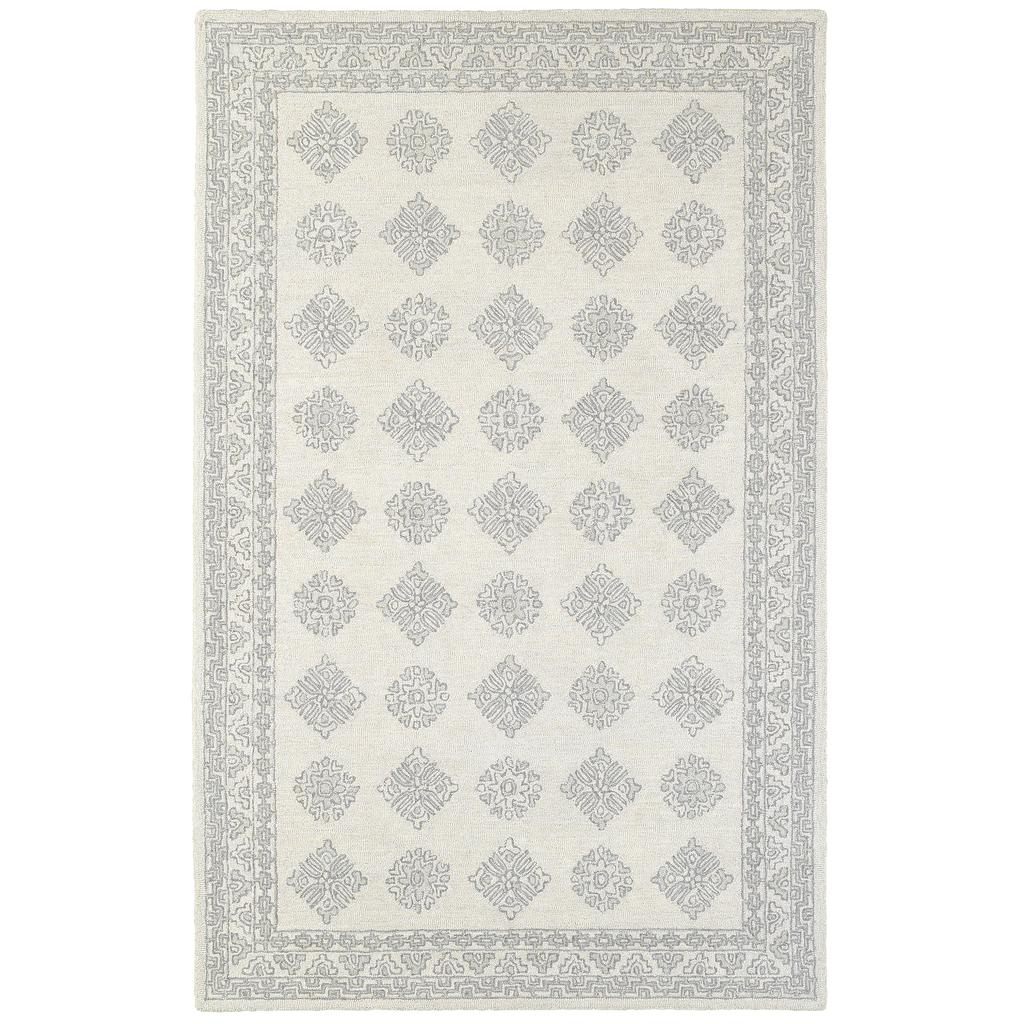 MANOR 81207 Grey Rug - Oriental weavers