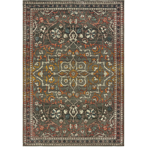 MANTRA 4929E Grey, Gold Rug - Oriental Weavers
