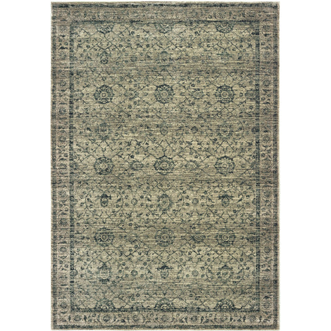 MANTRA 501L7 Grey, Blue Rug - Oriental Weavers