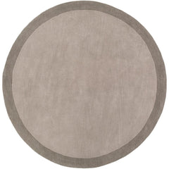 Madison Square Medium Gray, Charcoal Rug - Surya (MDS-1000)