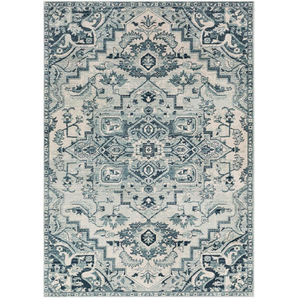 Mesopotamia Medium Gray, Denim Rug - Surya (MEP-2313)