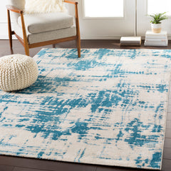 Notting Hill Teal, Pale Blue Rug - Surya (NHL-2302)