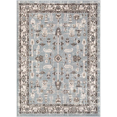 Norwich Medium Gray, Camel Rug - Surya (NWC-2315)