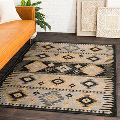 Paramount Medium Gray, Charcoal Rug - Surya (PAR-1046)