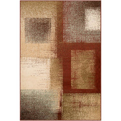 Paramount Dark Red, Dark Brown Rug - Surya (PAR-1078)