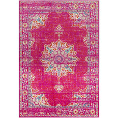 Paramount Fuschia, Bright Orange Rug - Surya (PAR-1101)