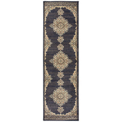 PASHA 072E2 Blue, Grey Rug - Oriental Weavers