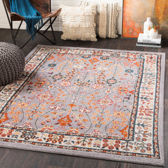 Patina Medium Gray, Blush Rug - Surya (PIA-2301)