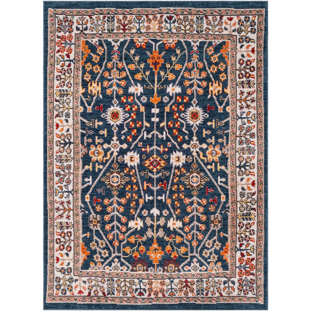 Patina Navy, Blush Rug - Surya (PIA-2303)