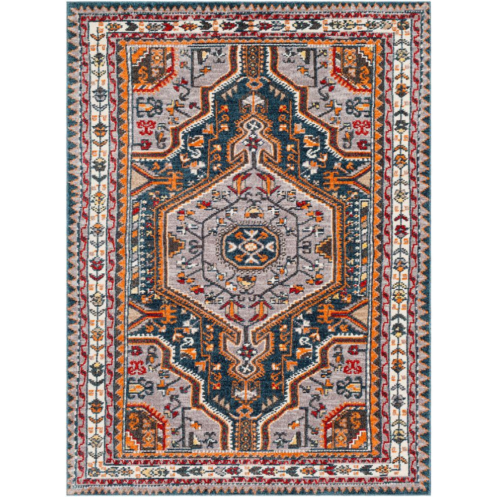 Patina Navy, Medium Gray Rug - Surya (PIA-2305)