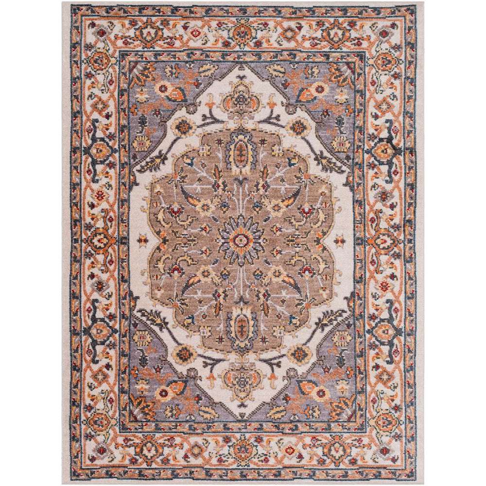 Patina Medium Gray, Blush Rug - Surya (PIA-2306)